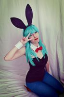 Bulma Dragon Ball Cosplay P4 by edeets