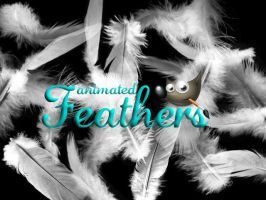 Feathers GIMP Brush by Chrisdesign