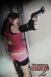 Resident Evil 2 : 20th Anniversary by ChaoticClaire