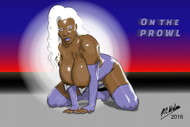 Lactation Lass on the Prowl by Afrodisium