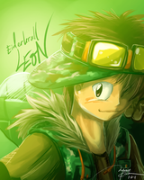 Speedpaint-Leon by RadenWA