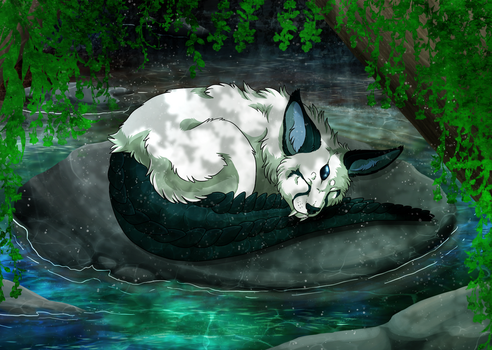 The Hidden Lake by Cylithren
