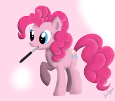 Pinkie Pie by WaveyWaves