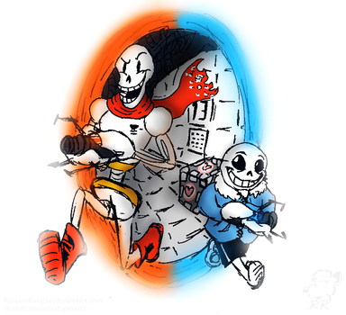 Portal/Undertale by RussianRatigan