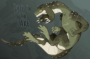 Deep in the lake - Grabbygon Auction [CLOSED!] by Tsukibahara