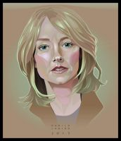 - Jodie Foster - Vector digital portrait by neptune82