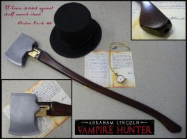 Abraham Lincoln Vampire Hunter Axe Gun by Challenger70TA