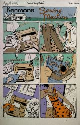 Kenmore Sewing Machine by mickeythewicked