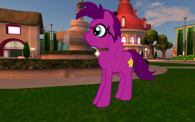 Me in sl as a  pony by noodley