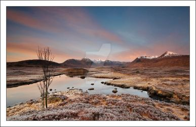Snowy Peaks by DL-Photography