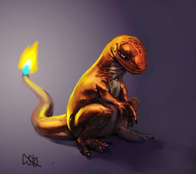 Charmander by CBSorgeArtworks