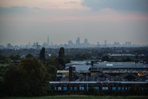 City of London, Hainault Forest, Winter, 2015. by LouHartphotography