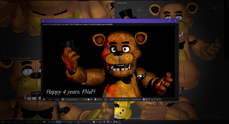 4 Years of Five Nights at Freddy's by NeeTroo