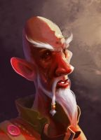 Old wizard2 by Firrka