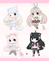 +Kemonomimi crayon adopts [ CLOSED] + by Hunibi