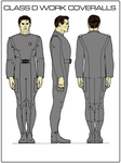 Class D Work Coveralls by Michael-Taylor1134