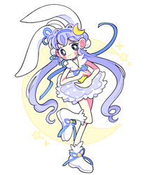 Moon Bunny by Frootcube
