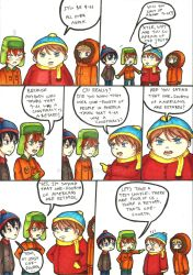 South Park comics by tomgirl227