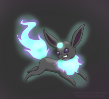 Poll Winner: Ghost Eevee: Chimereon by Bunderful
