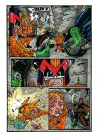 Judge Dredd 2 Colors by KurtBelcher1