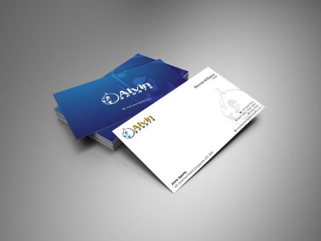 Alvin Sports Business Card by IAKhan