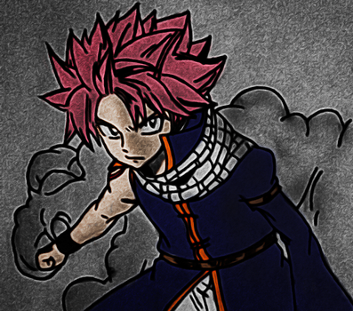 Natsu Dragneel! by xDome