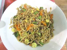 Vegetarian Stir Fry by Sia-the-Mawile