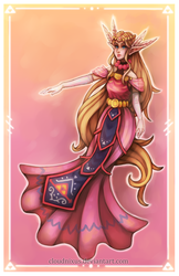 - Queen of Hyrule - by Cloudnixus