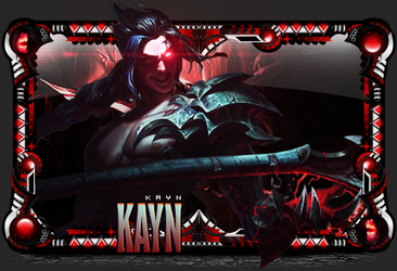 Sign - Kayn by DavidNightmare