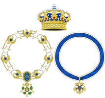 Crown and Orders (Royal America) by TiltschMaster