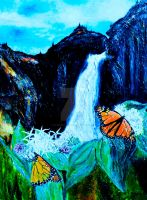 Monarchs on Milkweed Creatures  of Light 6 by Yosemite-Stories