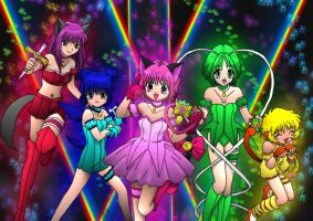 Tokyo Mew Mew by WrenShimmamora