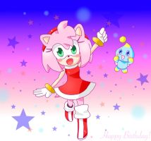 Happy 24th Birthday Amy Rose! by PeachyEmily