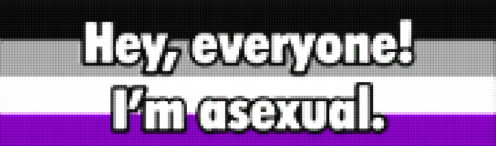 Hey, Everyone! I'm Asexual. by DenmarkKittenKiss