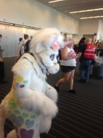 Walkaround fursuit unicorn by dth1971