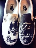 Cubone Haunter Ghastly and Gengar Custom Vans