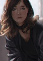 Portrait Study by fate-fiction