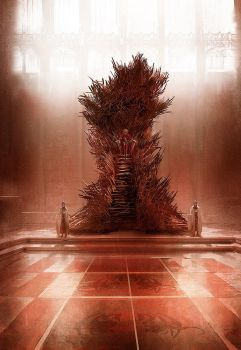 The Iron throne by MarcSimonetti