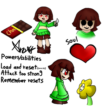 CorrupTedtale chara by mega-lisonic