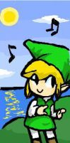 Dancing toon link by elvereth