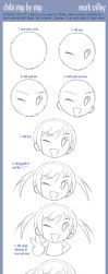 How to Draw Chibi Step By Step by markcrilley