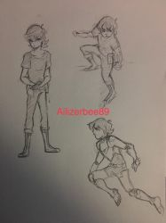 Keith Doodles  by Ailizerbee08