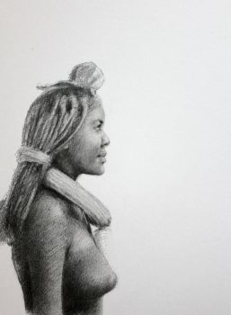 African girl by PabloGarMa