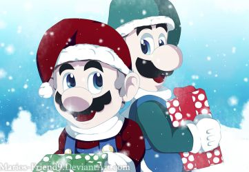 Merry Christmas/Happy Holidays 2017 by Marios-Friend9