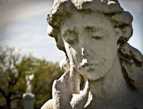 Face of Mourning by sunlitcerulean