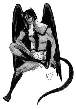 Suiran the Winged Panther by kittycheetah14