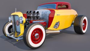 1934 Ford Rod by SamCurry
