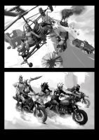 Warlands illustrations by Dmitrys