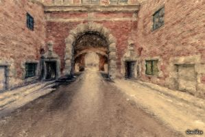 The Lowland Gate in Gdansk by wiwaldi24