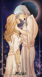 Kiss of the wedding night by Amarna
